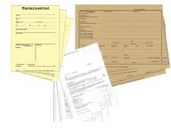 Geschäftsbücher / Formulare
