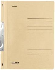 Falken Einhakhefter A4 1/1 Vorderdeckel kfm. Heftung, chamois, Manilakarton, 250 g/qm Einhakhefter