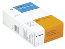 Herma 4322 Frankier-Etiketten - einzeln mit Abziehlasche, 163x44 mm, 500 Stück Frankieretiketten