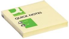 Q-Connect® Haftnotizen - gelb - 76 x 76 mm Haftnotizblock 76 x 76 mm gelb