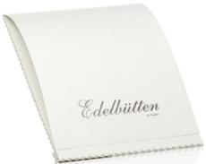 Rössler Papier Briefblock Bütten - weiß, A4, 100 g/qm Büttenpapier A4 weiß 100 g/qm 40 Blatt