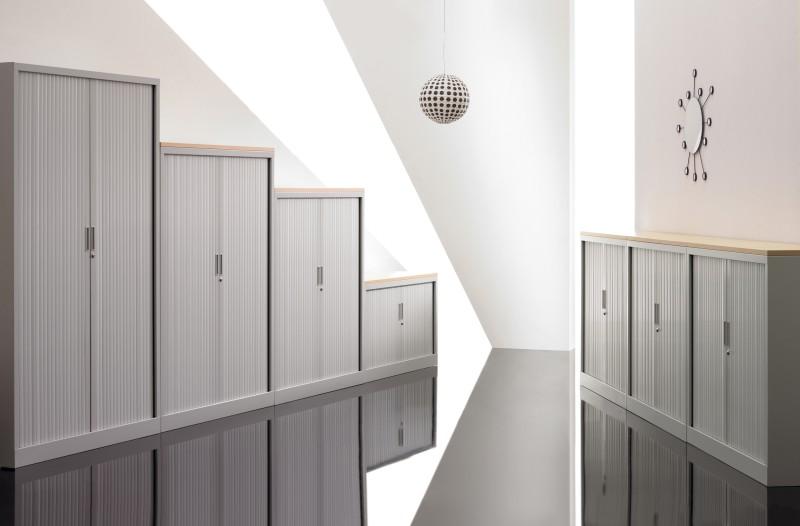 Rollladenschrank X File 198 x 80 cm - Büro Design Kruel Beratungs ...