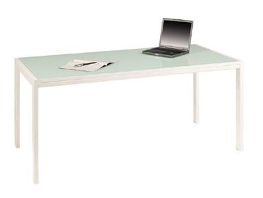Rechteckiger Schreibtisch Rio Glas - Büro Design Kruel Beratungs ...