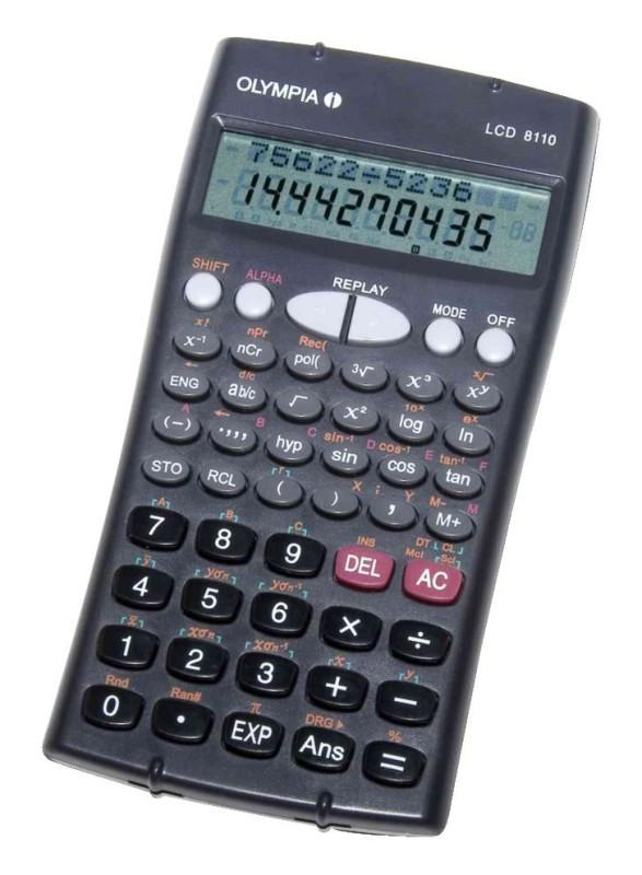 Taschenrechner Olympia LCD 8110