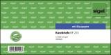 SIGEL Kurzmitteilungen »Kurzbrief« - 1/3 A4 quer, 100 Blatt Kurzbrief 1/3 A4 quer BL = Blaupapier