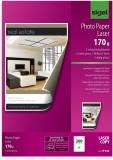 SIGEL Fotopapier für Farb-Laser/-Kopierer - A4, 2-seitig hochglänzend, 170 g/qm, 200 Blatt A4 A4