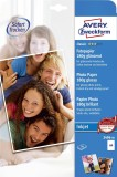Avery Zweckform® 2496-50 Classic Inkjet Fotopapier - DIN A4, glänzend, 180 g/qm, 50 Blatt A4 A4