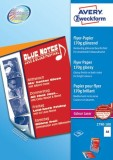 Avery Zweckform® 2790-100 Colour Laser Flyer-Papier, DIN A4, beidseitig beschichtet - glänzend, 170 g/qm, 100 Blatt