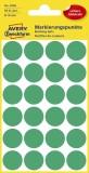 Avery Zweckform® 3006 Markierungspunkte - Ø 18 mm, 4 Blatt/96 Etiketten, grün Markierungspunkte