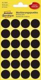 Avery Zweckform® 3003 Markierungspunkte - Ø 18 mm, 4 Blatt/96 Etiketten, schwarz Markierungspunkte