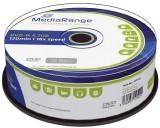 MediaRange DVD-R - 4.7GB/120Min, 16-fach/Spindel, Packung mit 25 Stück DVD-R 4.7GB/120Min 16-fach