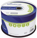 MediaRange DVD-R - 4.7GB/120Min, 16-fach/Spindel, Packung mit 50 Stück DVD-R 4.7GB/120Min 16-fach
