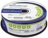 MediaRange DVD-R - 4.7GB/120Min, 16-fach/Spindel, bedruckbar, Packung mit 25 Stück DVD-R 16-fach
