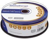 MediaRange DVD+R - 4.7GB/120Min, 16-fach/Spindel, Packung mit 25 Stück DVD+R 4.7GB/120Min 16-fach