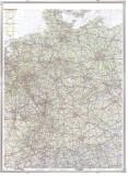 Franken Kartentafel Deutschland, magnethaftend, beschreibbar, 100 x 140 cm Kartentafel 100 cm 135 cm