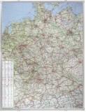 Franken Kartentafel Deutschland, beschreibbar, pinnbar,  100 x 140 cm Kartentafel 100 cm 135 cm