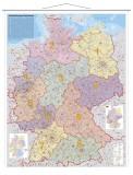 Franken Kartentafel Deutschland, laminiert, beschreibbar,  97 x 137 cm Kartentafel 97 x 137 cm