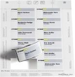 Durable BADGEMAKER®, Einsteckschilder 40x75mm, weiß Einsteckschild 75 x 40 mm weiß