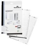 Durable BADGEMAKER®, Einsteckschilder 54 x 90 mm, weiß Einsteckschild 90 x 54 mm 200 Schilder