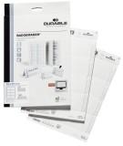 Durable BADGEMAKER®, Einsteckschilder 60 x 90 mm, weiß Einsteckschild 90 x 60 mm 160 Schilder