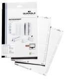 Durable BADGEMAKER®, Einsteckschilder 61/122x150mm, weiß Einsteckschild 61/122 x 150 mm