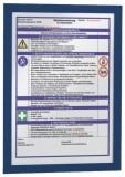 Durable Magnetrahmen DURAFRAME® - A4, 322 x 236 mm, dunkelblau Magnetrahmen dunkelblau A4 2 Stück