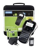 Dymo® Beschriftungsgerät Labelmanager 280D Kofferset mit Netzteil Beschriftungsgerät schwarz
