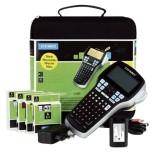 Dymo® Beschriftungsgerät LabelManager 420P Kofferset, für Dymo D1 Bänder 6/9/12/19mm schwarz