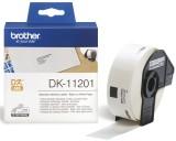 Brother DK-Einzeletiketten Papier-Etiketten 400 Adress-Etiketten 29x90 mm Thermoetiketten 29 x 90 mm