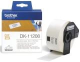 Brother DK-Einzeletiketten Papier-Etiketten 400 Adress-Etiketten 38x90 mm Thermoetiketten 38 x 90 mm