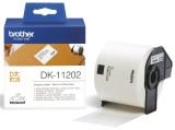 Brother DK-Einzeletiketten Papier-Etiketten 300 Versand-Etiketten 62x100 mm Thermoetiketten Papier