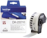 Brother DK-Endlosetiketten Papier-Etiketten 29 mm x 30,48 m weiß Thermoetiketten 29 mm x 30,48 m