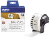 Brother DK-Endlosetiketten Papier-Etiketten 38 mm x 30,48 m weiß Thermoetiketten 38 mm x 30,48 m