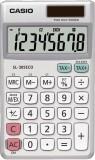 Casio® Öko-Taschenrechner SL-305 ECO Taschenrechner silber/grau 8-stellig 1 x CR2016