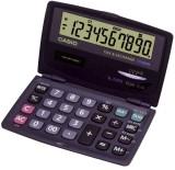 Casio® Solar-Taschenrechner SL-210TE, Größe: 120 x 73 x 12,5 mm Taschenrechner dunkelblau