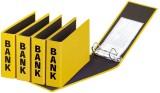Pagna® Bankordner Color-Einband - A5 , 50 mm, Color Einband, gelb Bankordner A5 50 mm gelb
