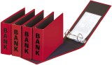 Pagna® Bankordner Color-Einband - A5 , 50 mm, Color Einband, rot Bankordner A5 50 mm rot
