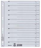 Leitz 1650 Trennblätter - A4 Überbreite, 100 Stück, grau Trennblatt A4 Überbreite grau 240 mm