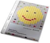 Leitz 4725 Prospekthülle Premium mit Einreißschutz, A5, PP, genarbt, dokumentenecht, farblos A5