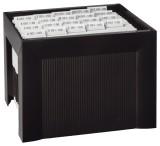 HAN Hängemappenregistratur KARAT, für 35 Hängemappen, extra stabil, schwarz Hängemappenbox