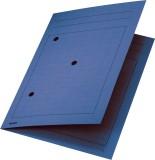 Leitz 3998 Umlaufmappe, A4, Gitterdruck, Manilakarton 320 g/qm, blau Umlaufmappe blau A4 300 Blatt
