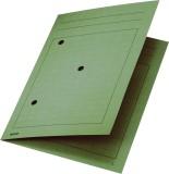 Leitz 3998 Umlaufmappe, A4, Gitterdruck, Manilakarton 320 g/qm, grün Umlaufmappe grün A4 300 Blatt