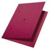 Leitz 3998 Umlaufmappe, A4, Gitterdruck, Manilakarton 320 g/qm, rot Umlaufmappe rot A4 300 Blatt