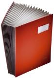 Leitz 5700 Unterschriftsmappe - 20 Fächer, PP kaschiert, rot Unterschriftsmappe 20 rot 240 mm