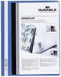 Durable Angebotshefter DURAPLUS®, strapazierfähige Folie, A4+, blau Schnellhefter blau 245 mm