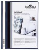 Durable Angebotshefter DURAPLUS®, strapazierfähige Folie, A4+, dunkelblau Schnellhefter dunkelblau