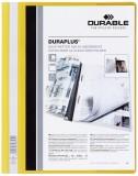 Durable Angebotshefter DURAPLUS®, strapazierfähige Folie, A4+, gelb Schnellhefter gelb 245 mm