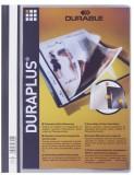 Durable Angebotshefter DURAPLUS®, strapazierfähige Folie, A4+, grau Schnellhefter grau 245 mm
