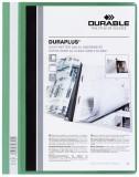 Durable Angebotshefter DURAPLUS®, strapazierfähige Folie, A4+, grün Schnellhefter grün 245 mm