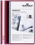 Durable Angebotshefter DURAPLUS®, strapazierfähige Folie, A4+, rot Schnellhefter rot A4 überbreit